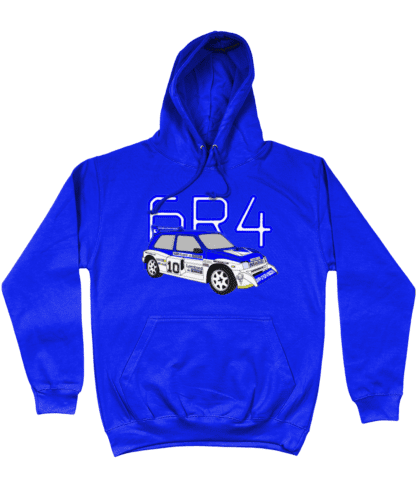 MG Metro 6R4 Computervision Hoodie in Blue
