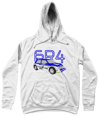 MG Metro 6R4 Computervision Hoodie in White