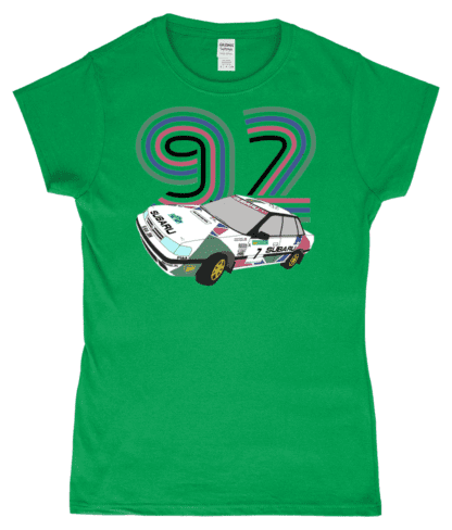 Subaru Legacy Colin McRae T-Shirt in Green