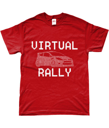 Virtual Rally T-Shirt in Red