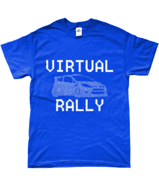 Virtual Rally T-Shirt in Blue