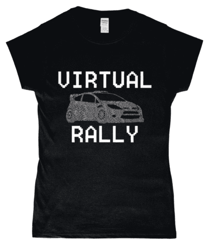 Virtual Rally T-Shirt in Black