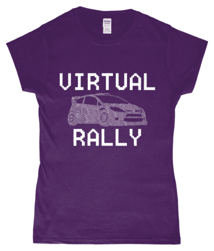 Virtual Rally T-Shirt in Purple