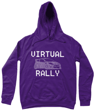 Virtual Rally Hoodie in Purple