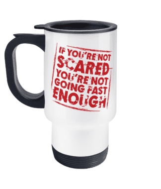 Not Scared Travel Mug