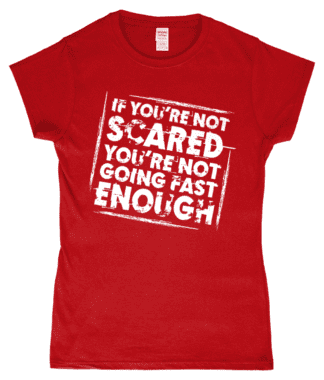 Not Scared T-Shirt in Red