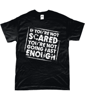 Not Scared T-Shirt in Black