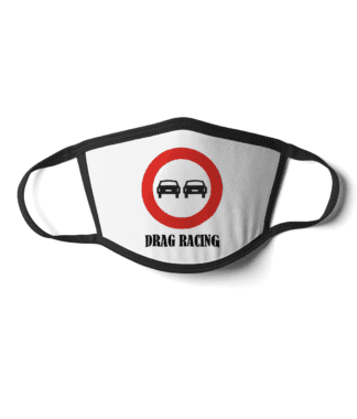 Drag Racing face mask