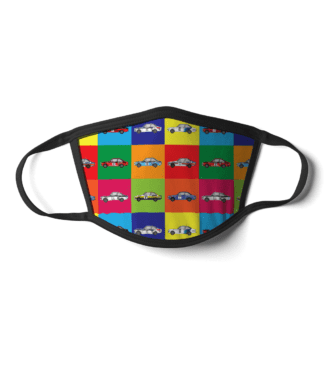 Ford Escort Mk2 Rally Cars Face Mask