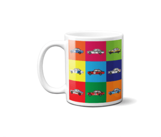 Ford Escort Mk2 Rally Cars Mug