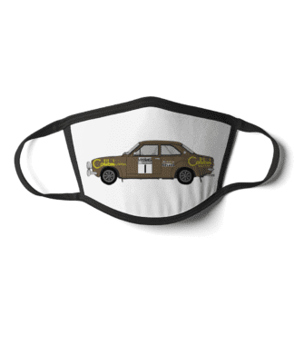 Ford Escort mk1 Colibri face mask