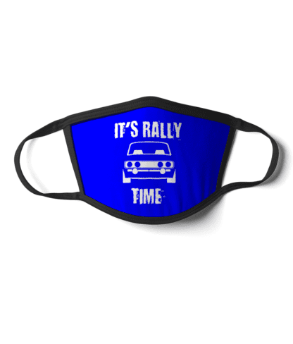 Its Rally Time face mask