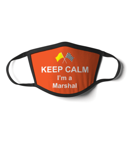 Keep Calm I'm a Marshal Face Mask