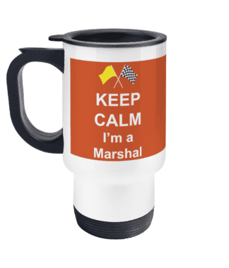 Keep Calm I'm a Marshal Travel Mug