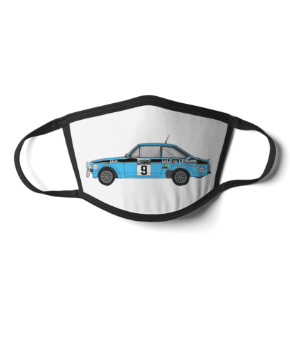 Ford Escort MK2 Li-Lo rally car face mask