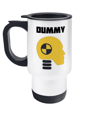 Dummy Travel Mug
