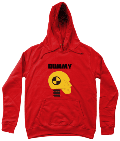 Dummy Hoodie in Red