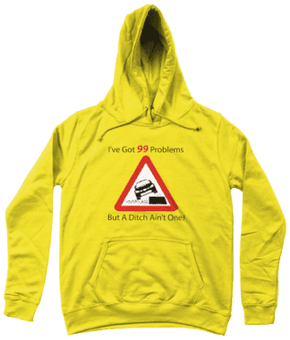 99 Problems Hoodie in Yellow