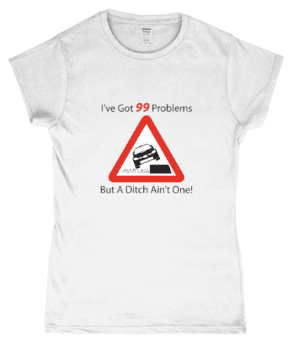 99 Problems T-Shirt in White