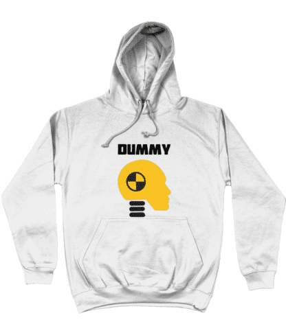 Dummy Hoodie in White