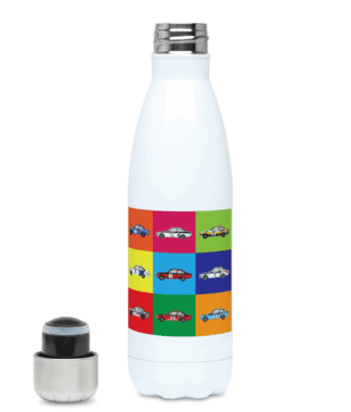 Ford Escort Mk2 Rally Cars Water Bottle