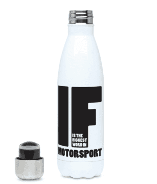 IF is the Biggest Word Water Bottle