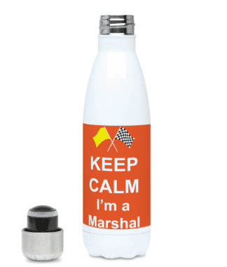 Keep Calm I'm a Marshal Water Bottle